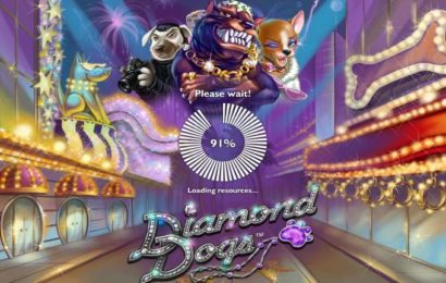 Игровой автомат «Diamond Dogs» в казино Вулкан