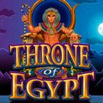 Игровой автомат Throne of Egypt в казино Вулкан