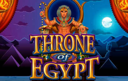Игровой автомат Throne of Egypt в казино Вулкан