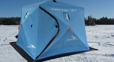 Палатка в форме куба