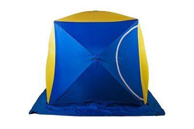 Синяя палатка куб