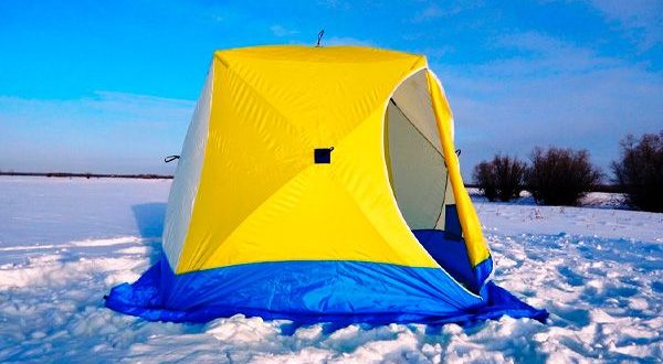 Палатка куб для зимней рыбалки