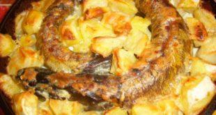 Рецепт приготовления запеченной в духовке щуки с картошкой