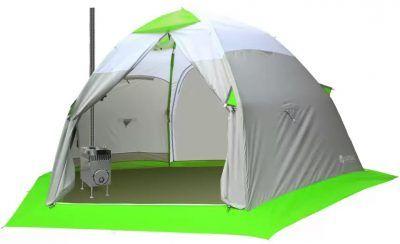 Палатка с теплообменником