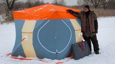 Зимняя палатка куб