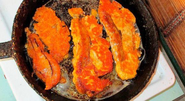 Рецепт приготовления жареной щуки в кляре